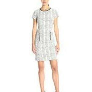 sharagano ◾ Textured Mini Dress